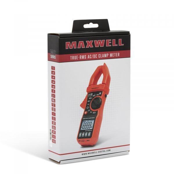 Digitalni multimeter Maxwell s kleščami True RMS AC / DC