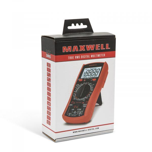 Digitalni multimeter Maxwell (TRUE RMS) - z visokonapetostnim vezjem