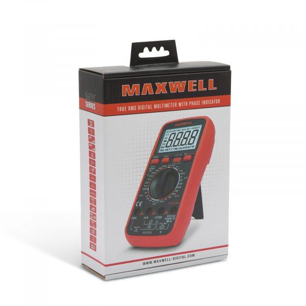 Digitalni multimeter Maxwell z merjenjem induktivnosti