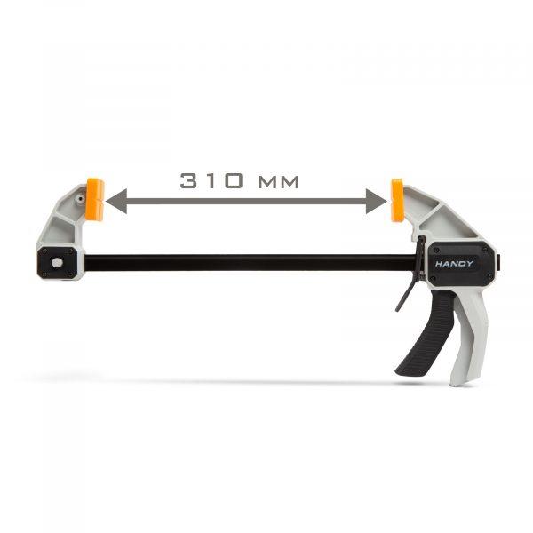 """Enoročna vzporedna sponka - 12 """"/ 300 mm - 485 x 220 mm"""