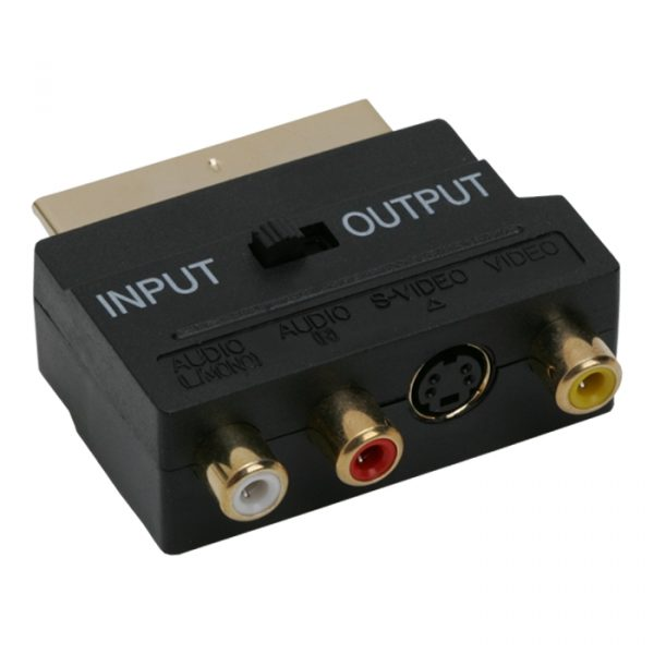 EURO / RCA adapter
