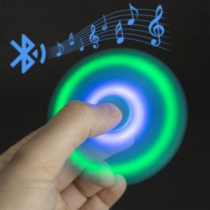 Fidget Spinner z Bluetooth zvočnikom  in LED - PARTY KING
