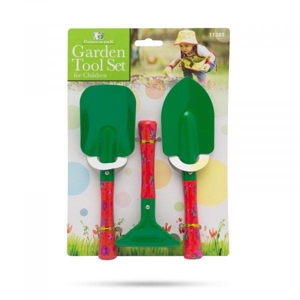 Garnitura vrtnega orodja za otroke - 3 kosi