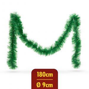 Grilanda - svetlo zelena - 180 cm