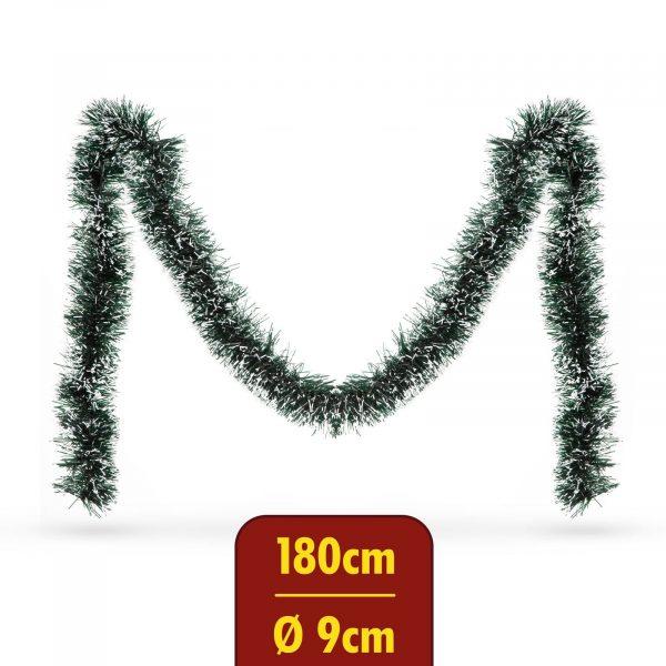 Grilanda - zasnežena - 180 cm
