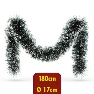 Grilanda - zasnežena - 180 cm x 17 cm