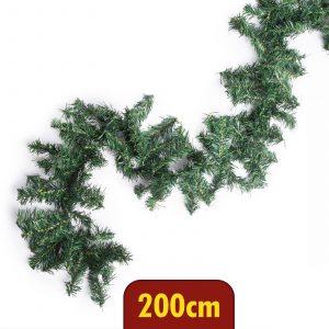 Grilanda zelena, bor, bujna - 200 cm