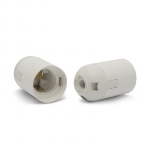 Grlo E27 plastično belo