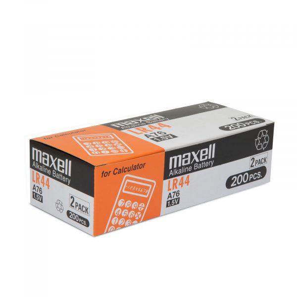 Gumbna baterija AG13 LR44 MAXELL 2 kosa