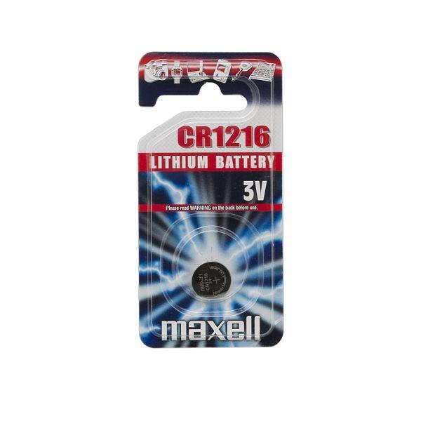 Gumbna baterija - CR 1216 - Li • 3 V