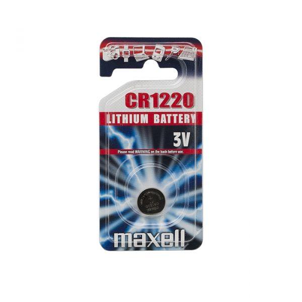 Gumbna baterija - CR 1220 - Li • 3 V
