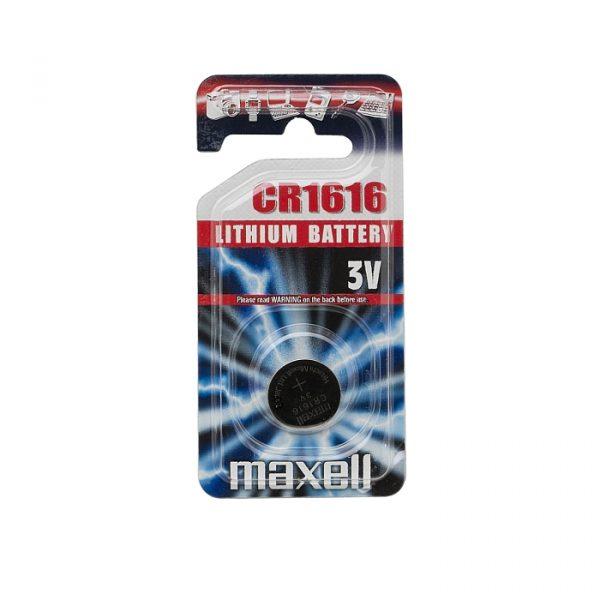 Gumbna baterija - CR 1616 - Li • 3 V