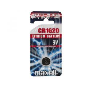 Gumbna baterija - CR 1620 - Li • 3 V