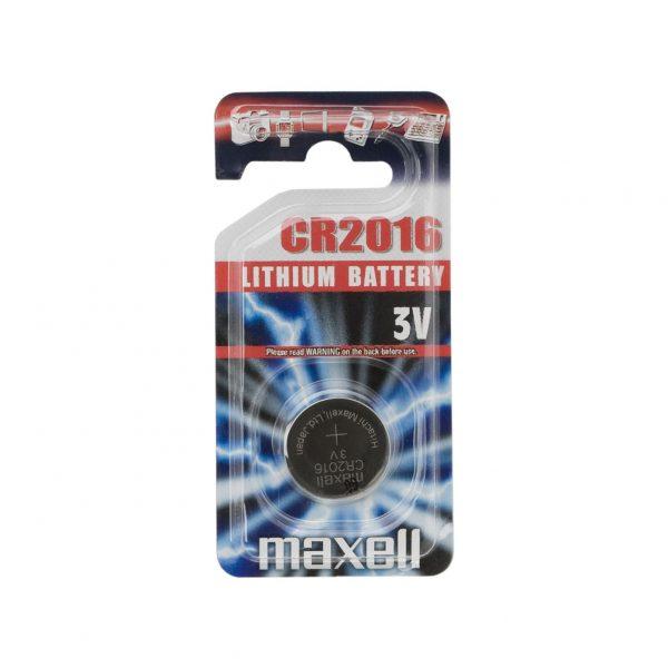 Gumbna baterija - CR 2016 - Li • 3 V