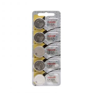 Gumbna baterija - CR 2016 - Li • 3 V - 5 kos / blister