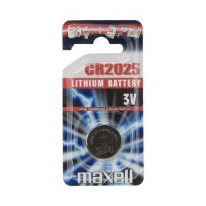 Gumbna baterija - CR 2025 - Li • 3 V