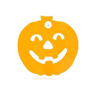 Halloween papirnata grilanda - buče - 3 m