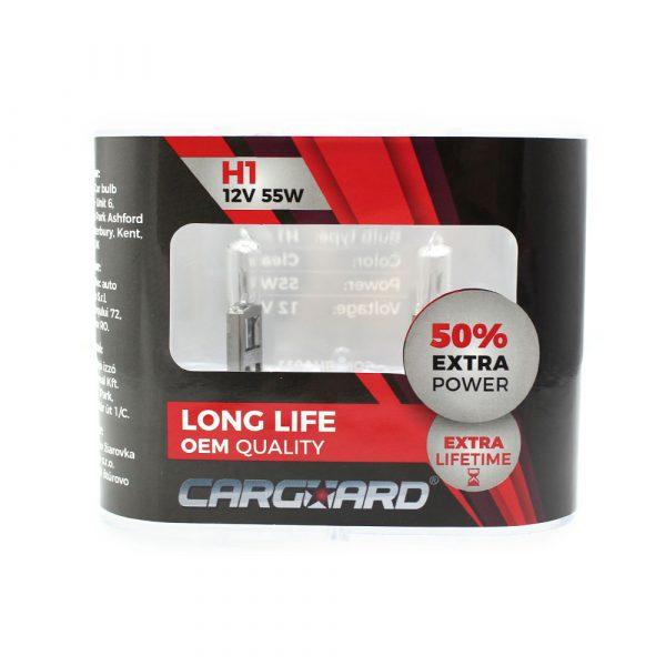 Halogenska žarnica - H1-12V-55W - 2 kos / škatla