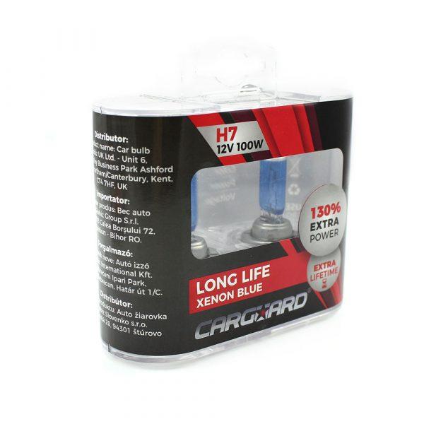 Halogenska žarnica - H7-12V-100W - 2 kos / škatla