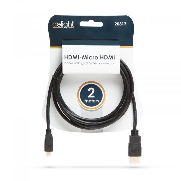 HDMI - Micro HDMI kabel  2 m