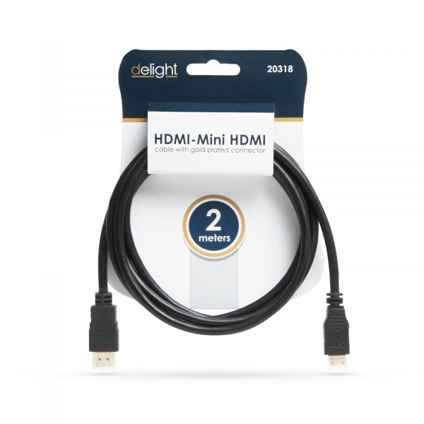 HDMI - Mini HDMI kabel 2 m