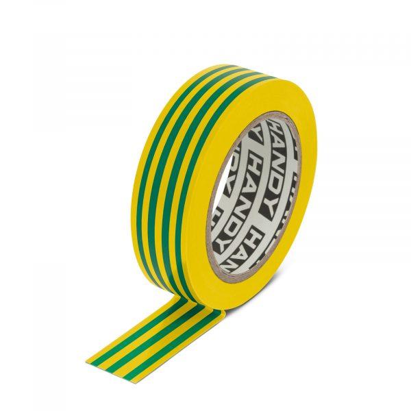 Izolacijski trak - 19 mm · 10 m - zeleno / rumen