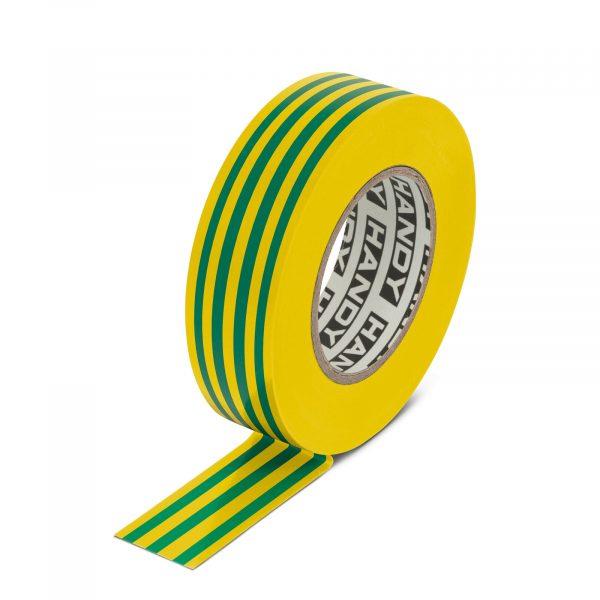 Izolacijski trak - 19 mm · 20 m - zeleno / rumen