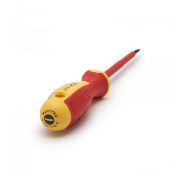 Izvijač - 0,8 x 4 x 100 mm - do 1000V