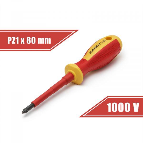 Izvijač - PZ1 x 80 mm - do 1000V