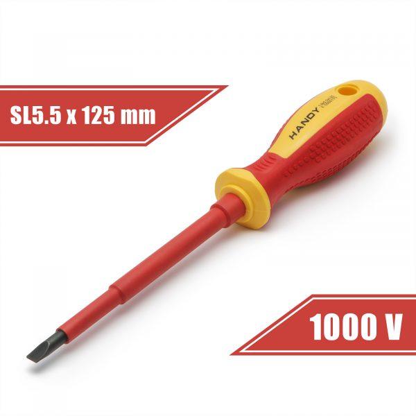 Izvijač - SL5.5 x 125 mm - do 1000V