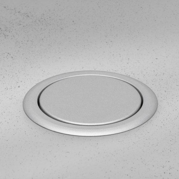 Izvlečni potopni razdelilec 3 x 250 V - srebrni - SLOVAŠKI TIP