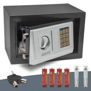 Jekleni sef na kodo - midi - 310 x 200 x 200 mm