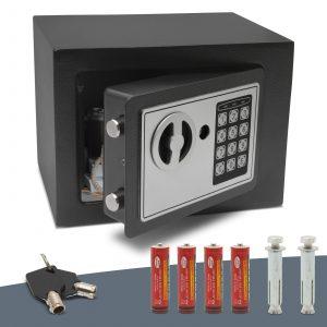 Jekleni sef na kodo - mini - 230 x 170 x 170 mm