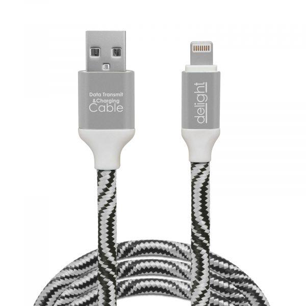 """Kakovosten podatkovni """"lighting""""  kabel prevlečen s tkanino 2m več barv"""