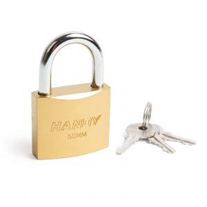 Ključavnica - obešanka - 50 mm, Ø7.5 mm