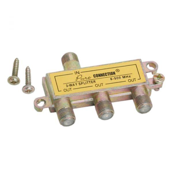 KOAX razdelilec 1v3 5-900 MHz