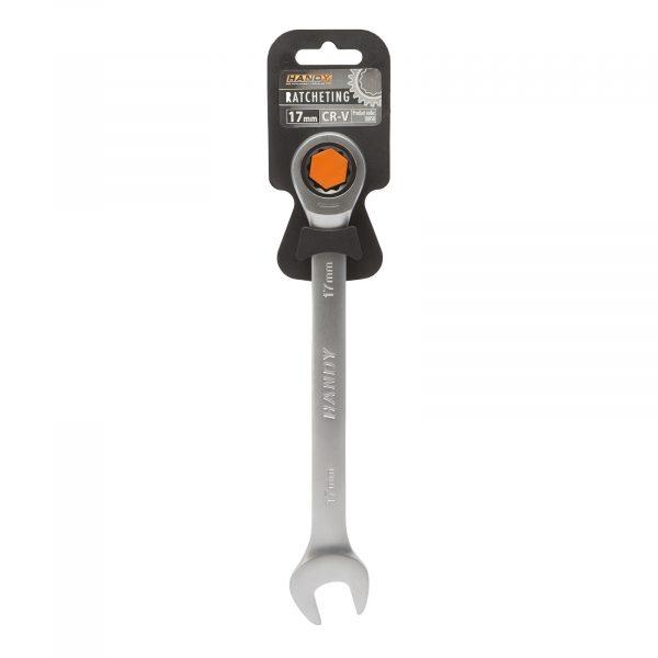Kombinirani ključ z ragljo - račno - 17 mm