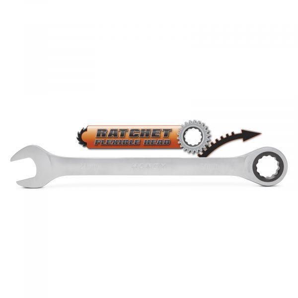 Kombinirani ključ z ragljo - račno - 21 mm