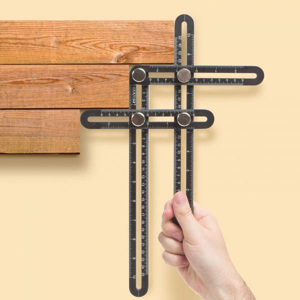 Kovinska šablona za kote 31x18cm