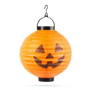 Lanterna za noč čarovnic - 1 LED - buča - 2 x AAA