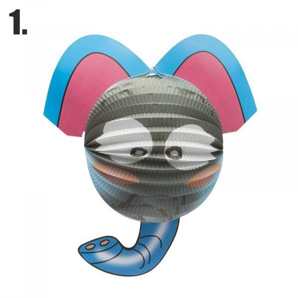 Lanterna - živalska oblika - ⌀ 25 cm