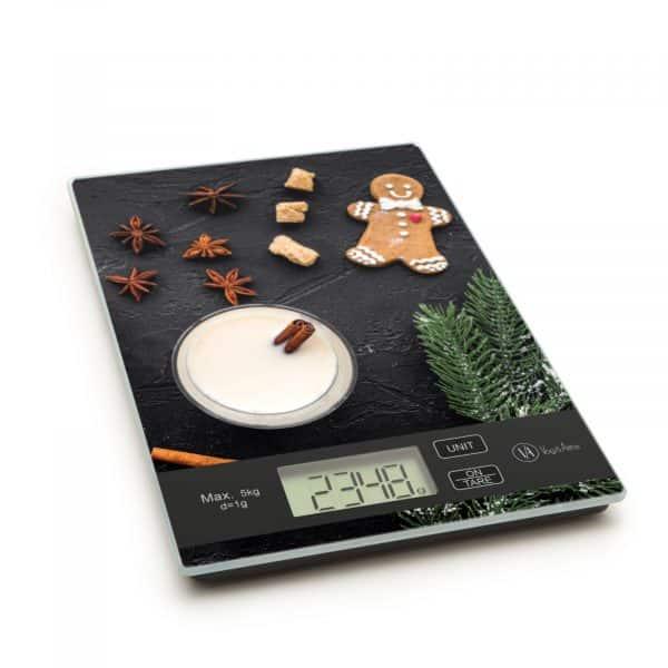 LCD kuhinjska tehtnica - digitalna - medenjaki
