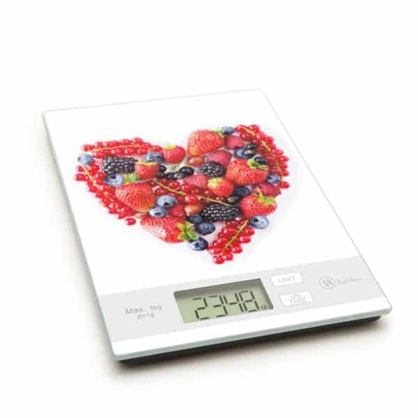LCD kuhinjska tehtnica - digitalna - srce