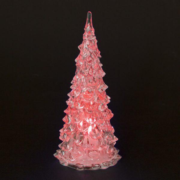 LED božično drevo - 16 cm