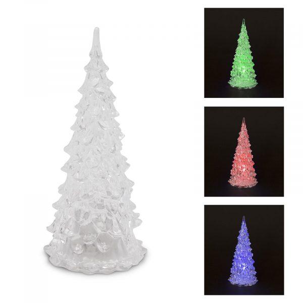 LED božično drevo - 22 cm