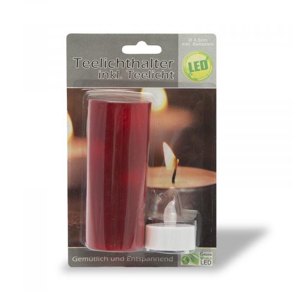 LED čajna svečka - 11 cm - 2 barvi