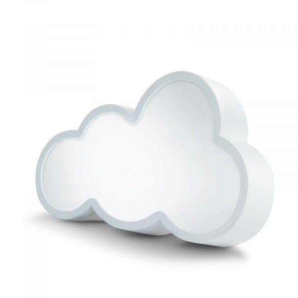 LED čarobno ogledalo - oblika oblaka