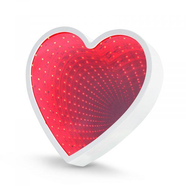 LED čarobno ogledalo - oblika srca