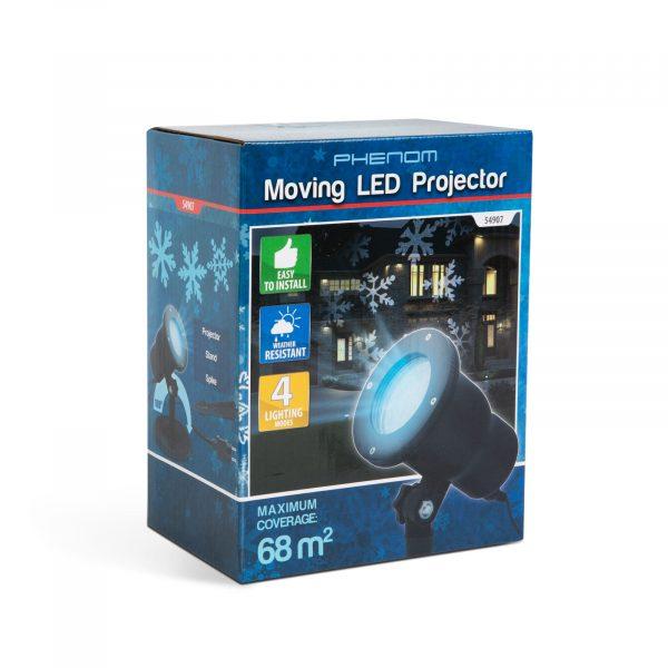 LED projektor - Snežinke - IP44 - 240 V
