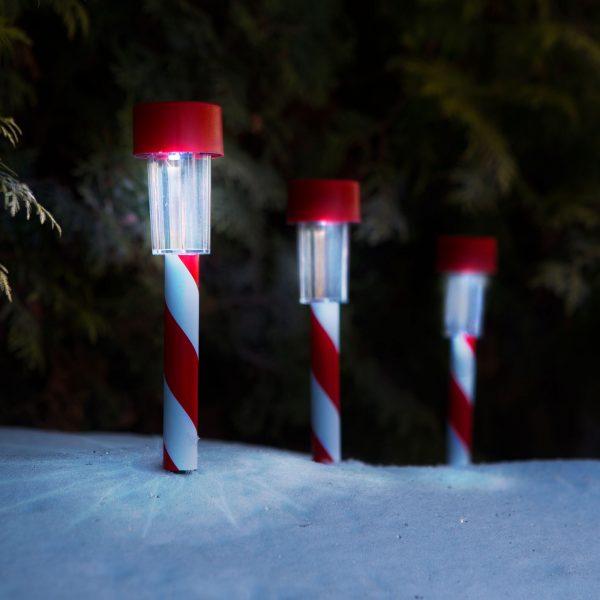 LED solarna svetilka - božič